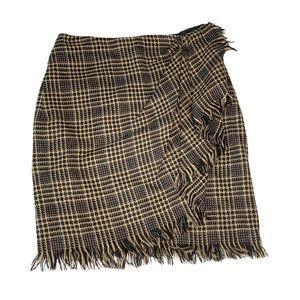 Vintage 90's: Emanuel Ungaro ☻︎ Wool Plaid Skirt